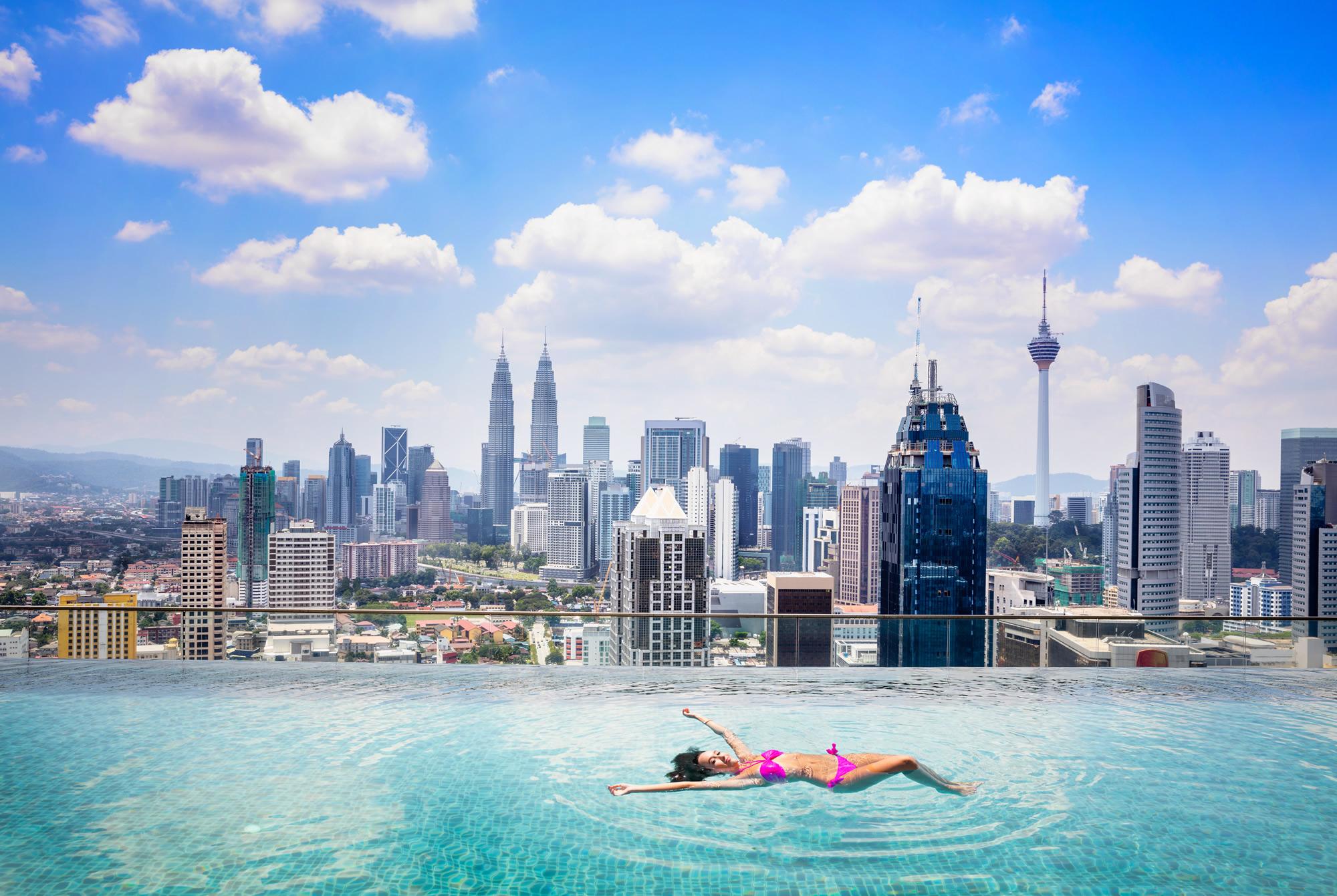Kuala Lumpur Skylines, Malaysia
