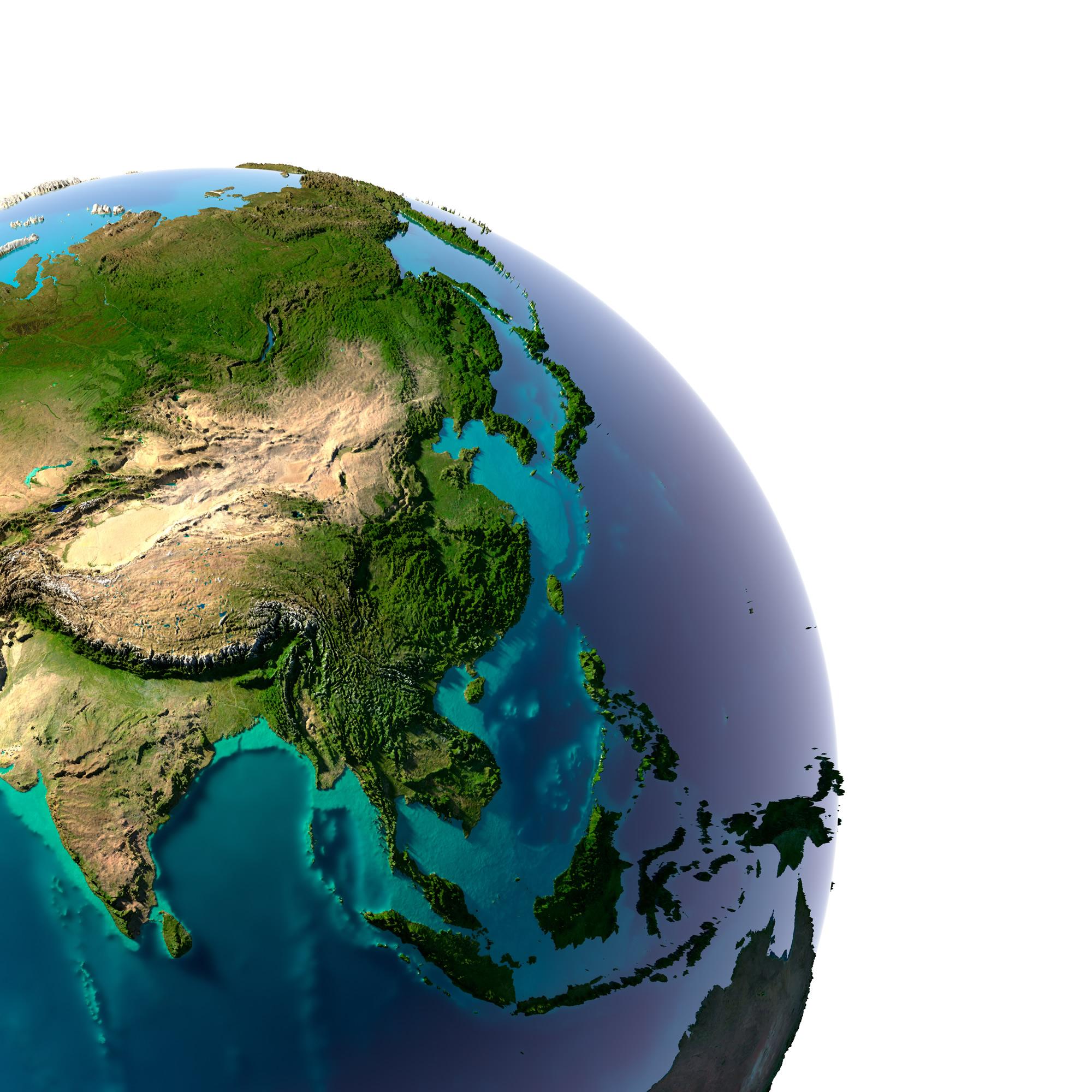 Malaysia Satellite Map