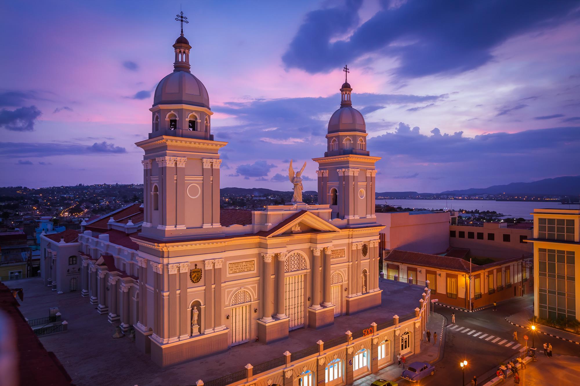 Nuestra senora de la asuncion cathedral santiago de cuba