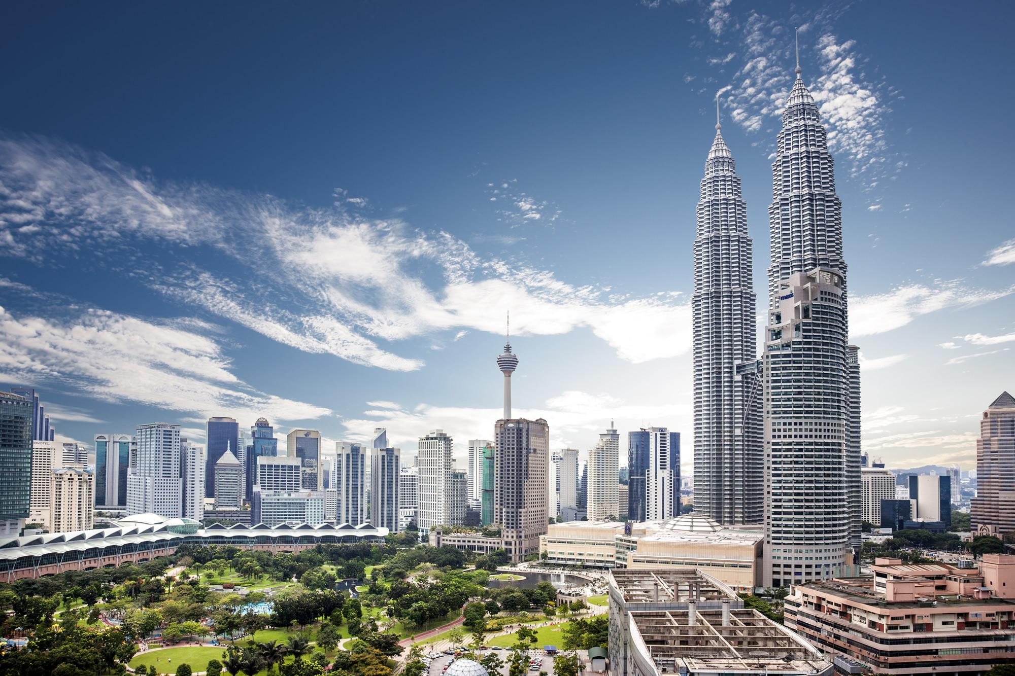 Petronas Skyline, Kuala Lumpur