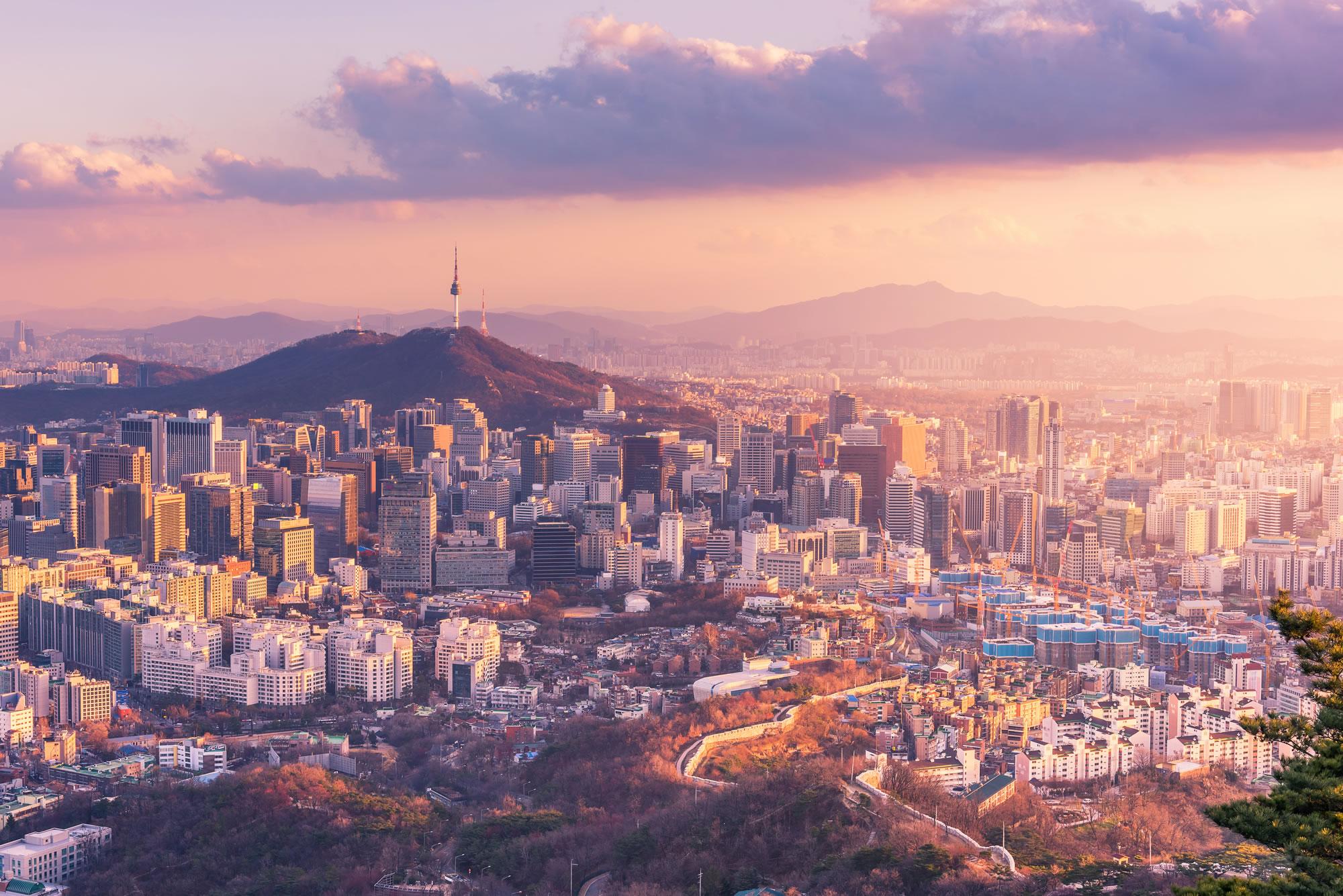 Seoul Skylines, South Korea