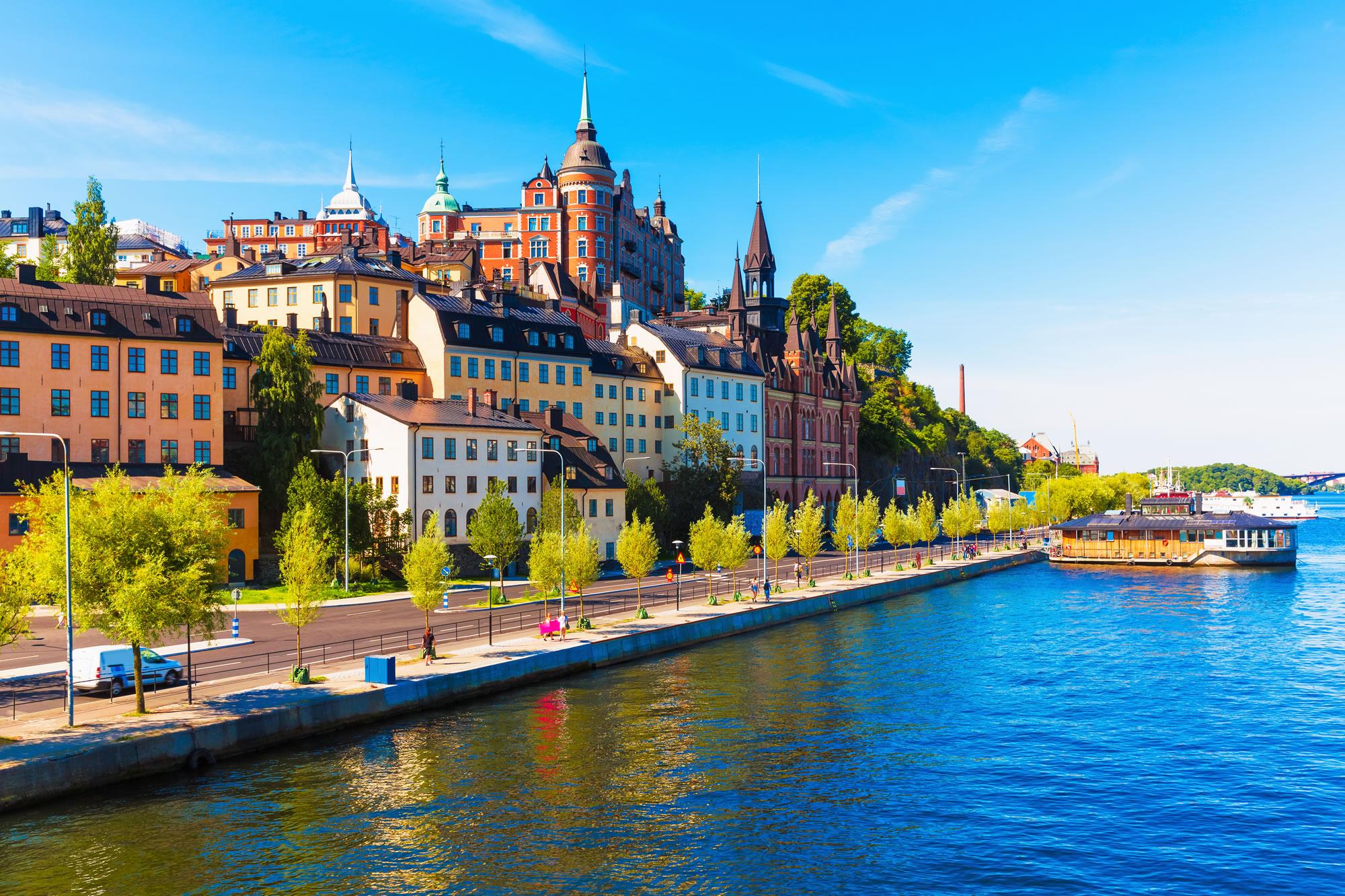 Sodermalm District Stockholm, Sweden