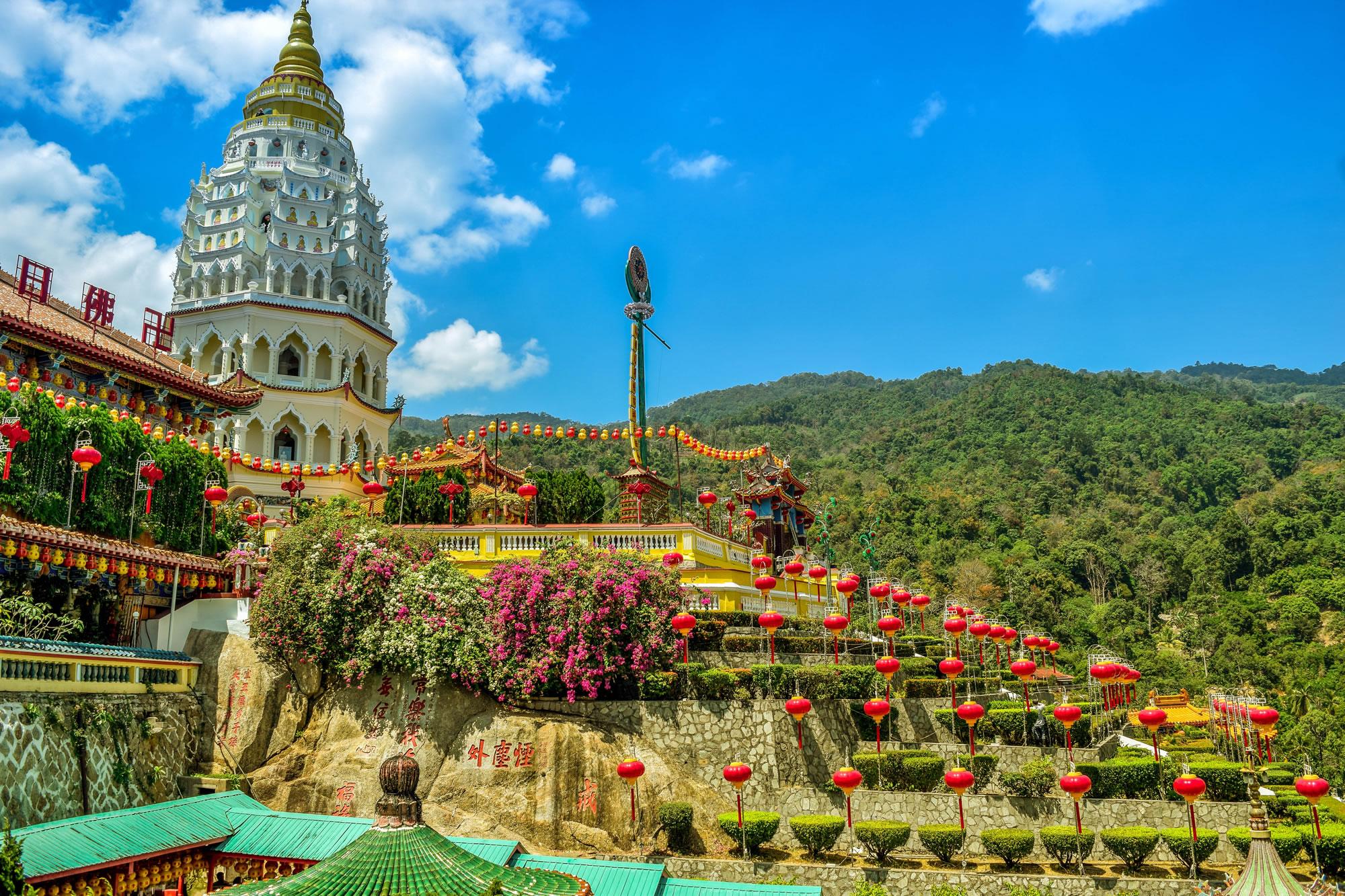 Temple Penang, Malaysia