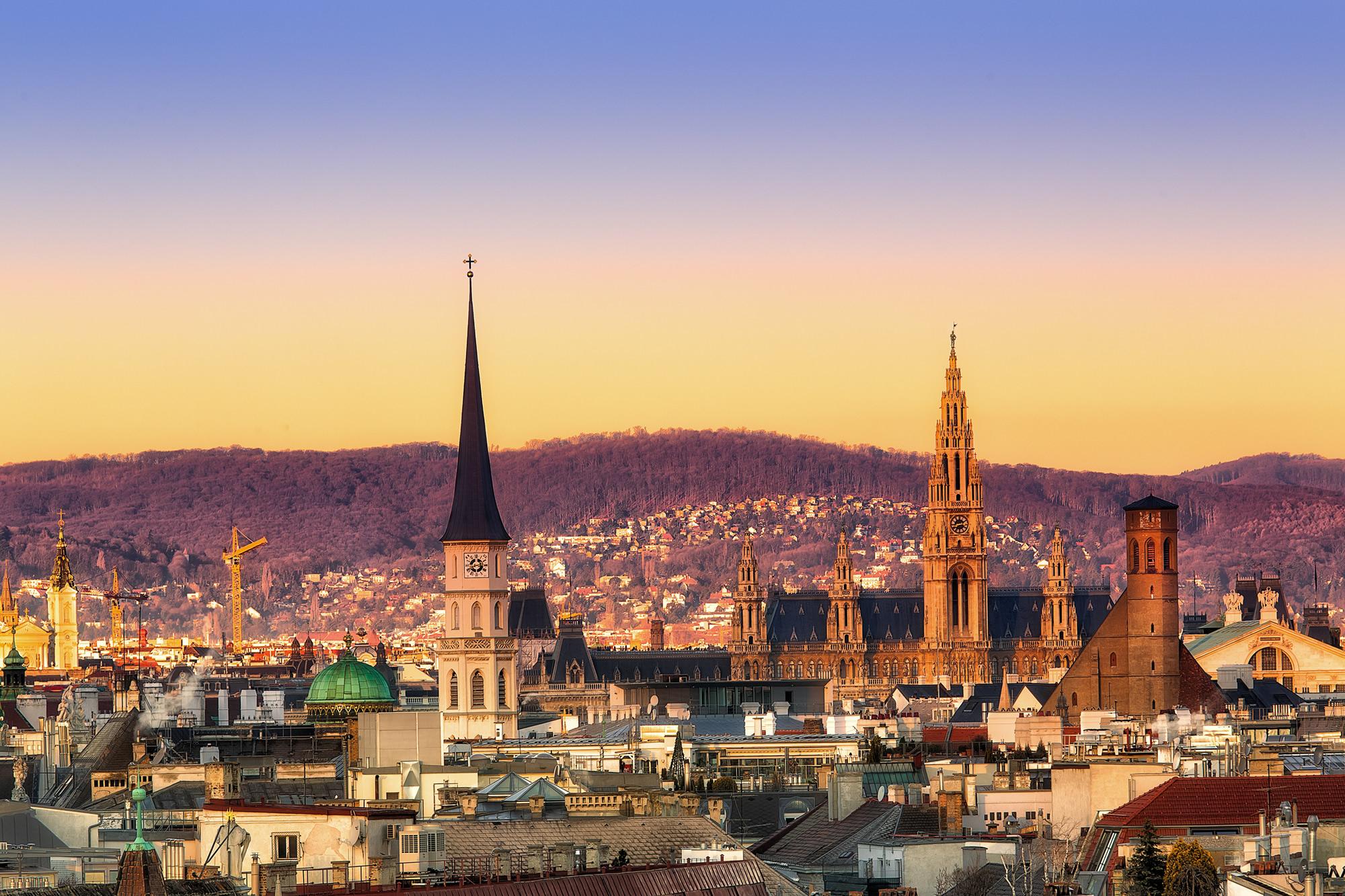 Vienna Sunset, Austria