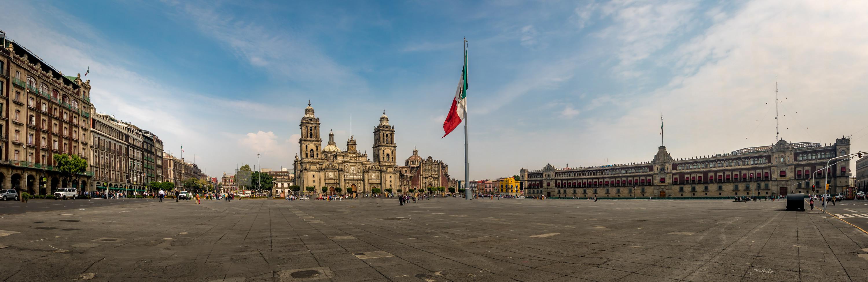 Zocalo Cathedral Mexico City