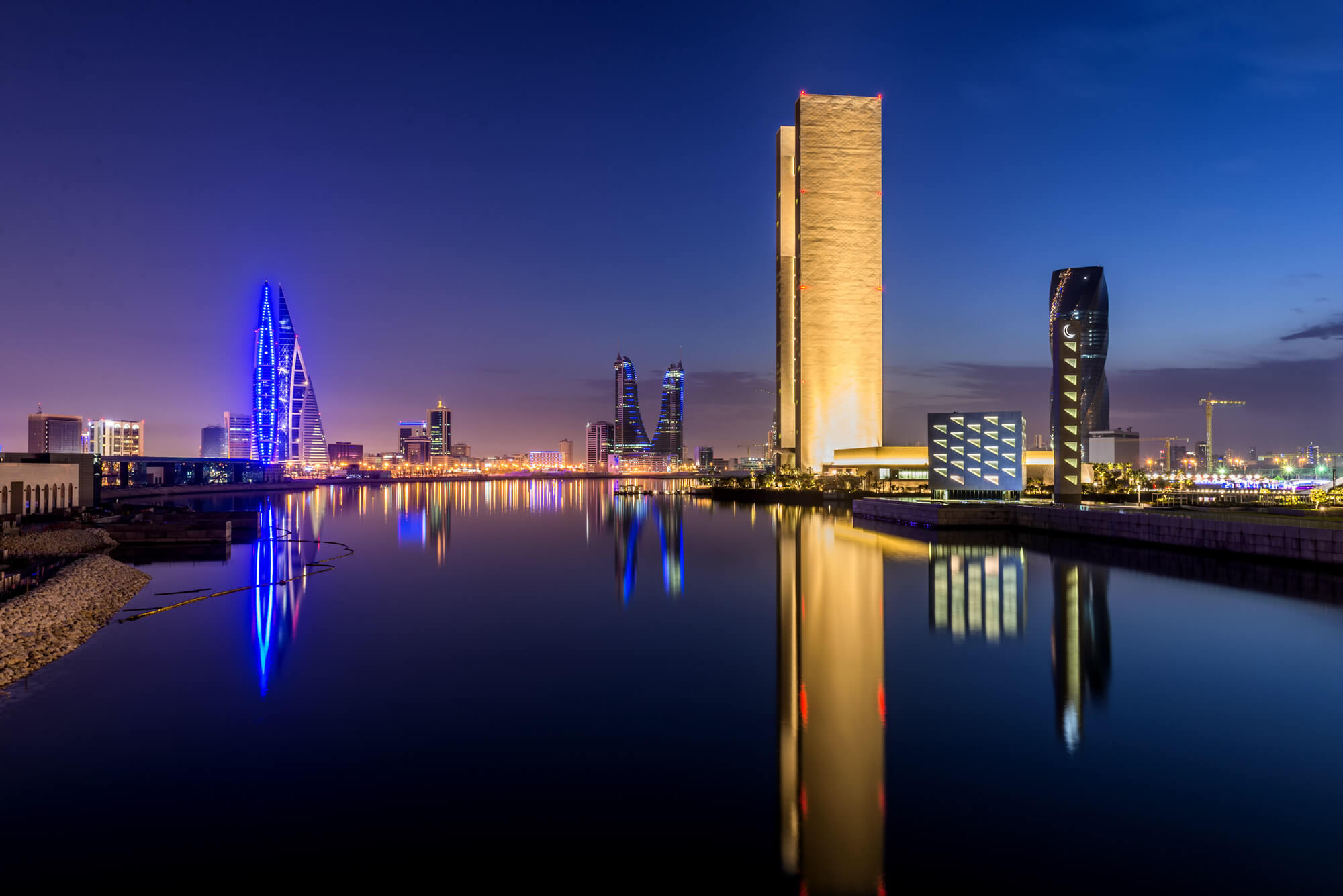 Bahrain Bay in Manama