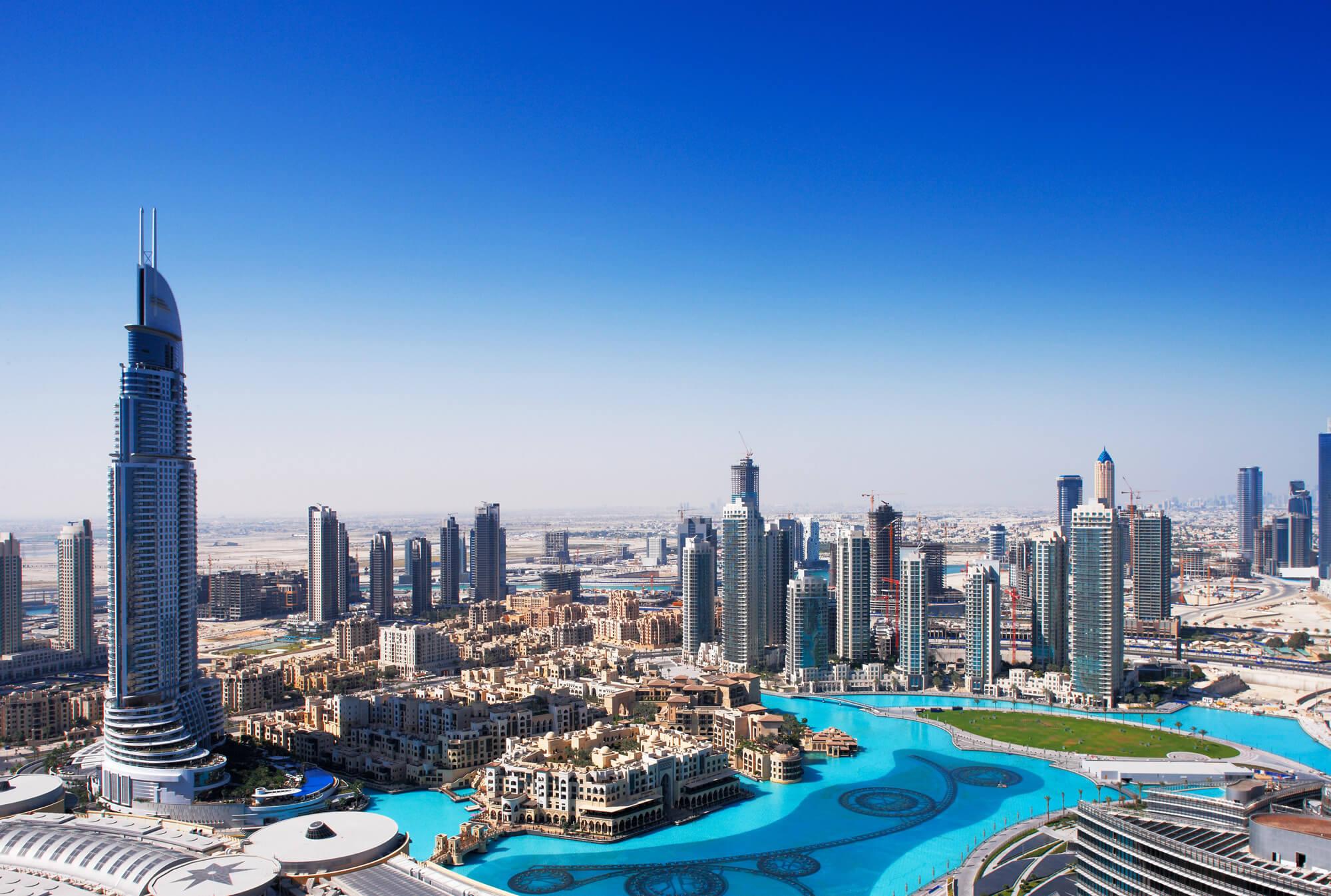 Dubai Fountain, United Arab Emirates