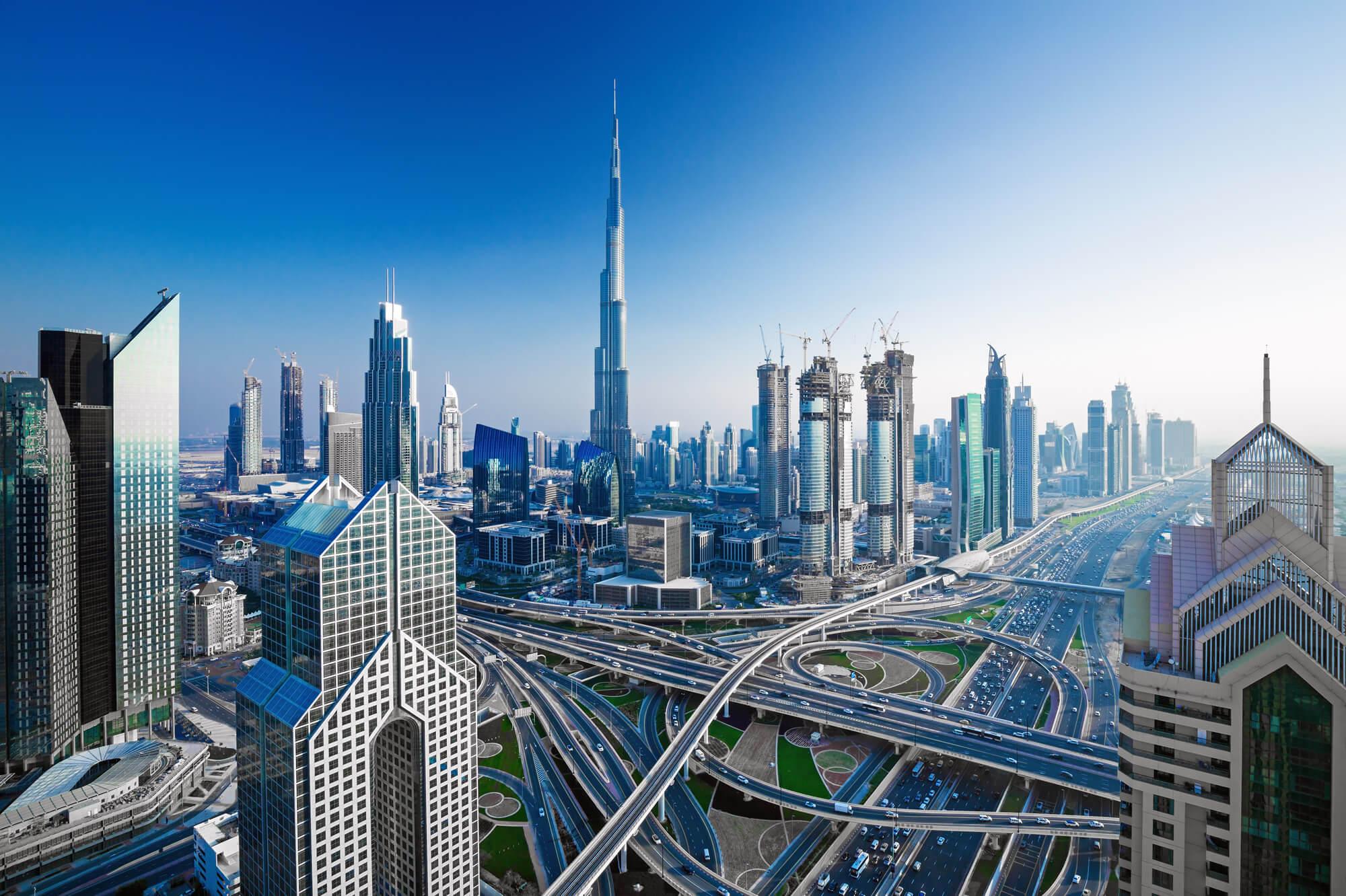 Dubai Skylines, UAE