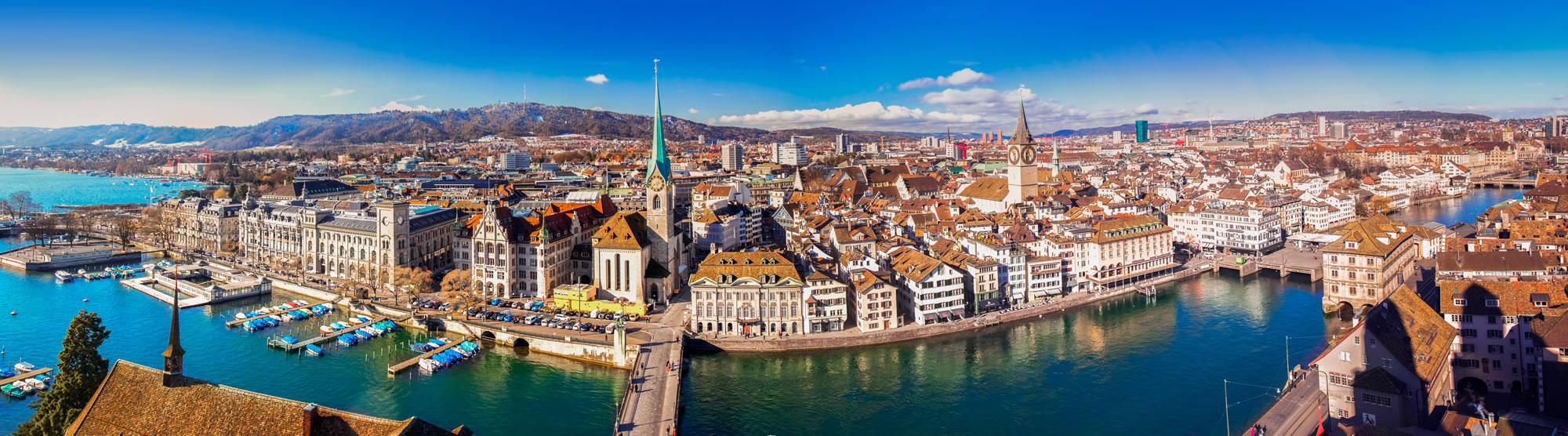 Grossmunster Church Zurich, Switzerland