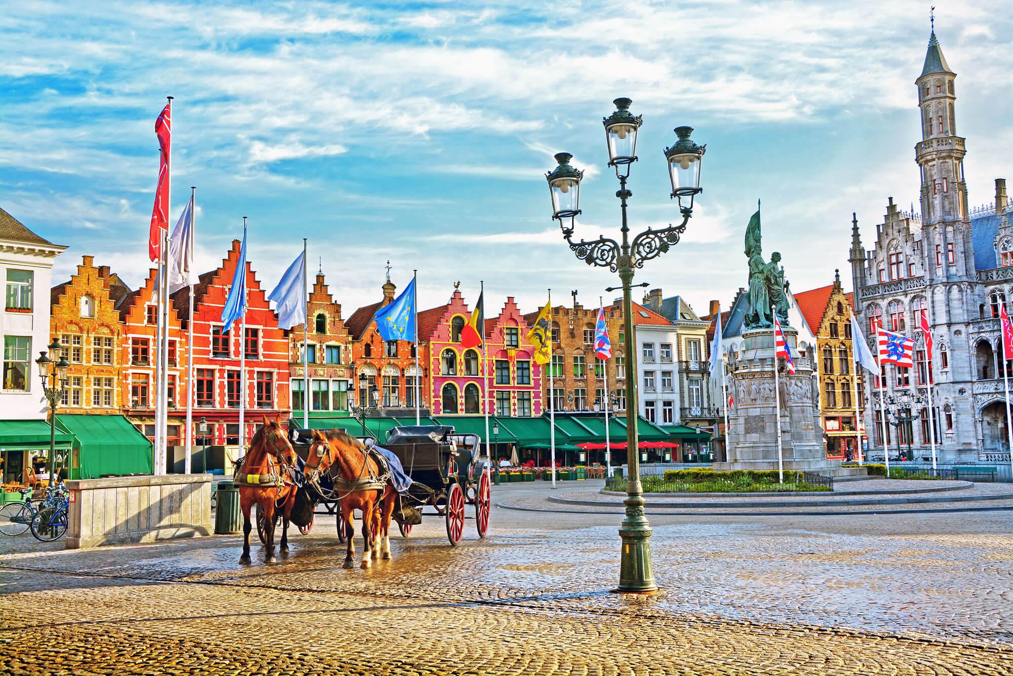 Grote Markt Square, Brugge