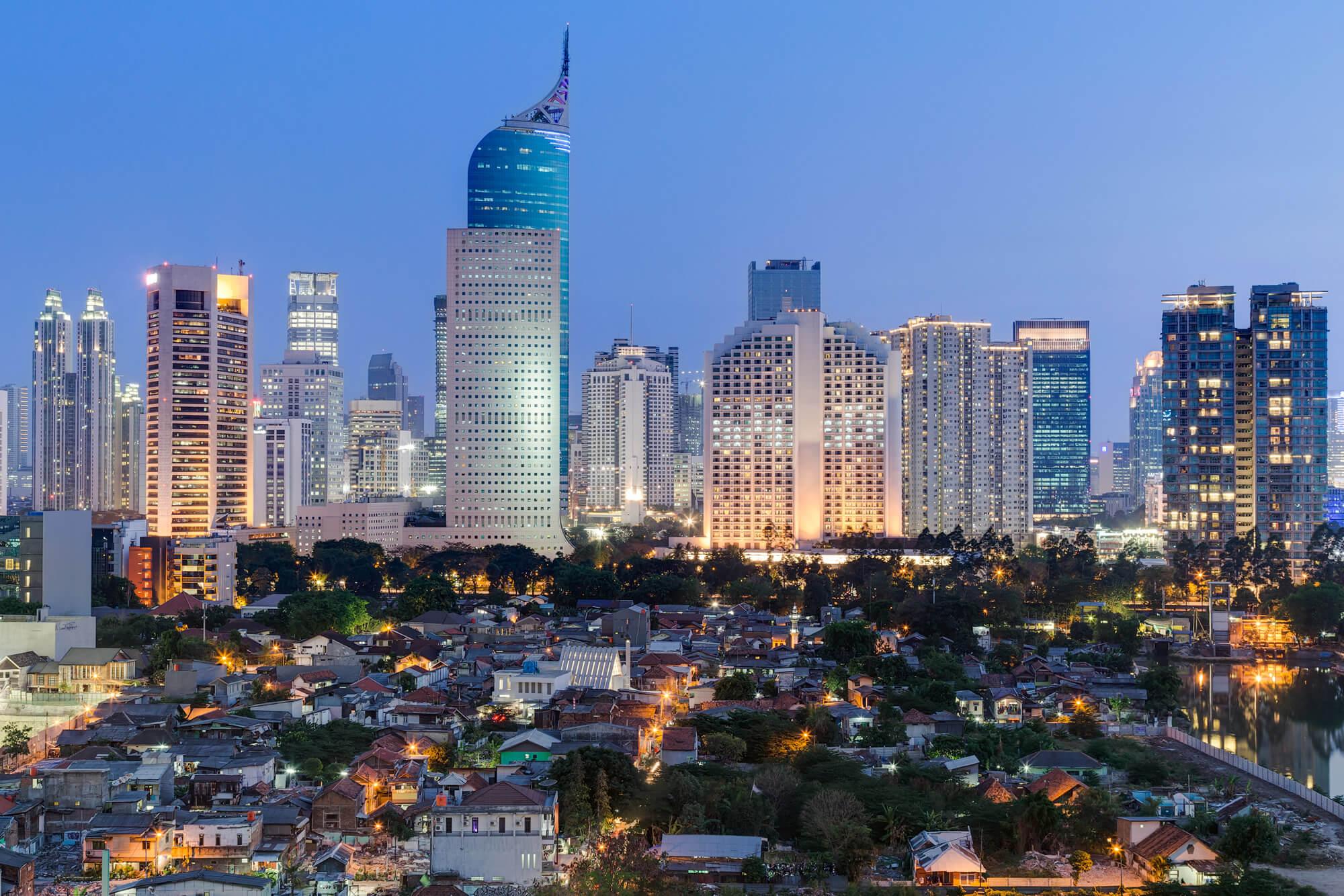 Jakarta Downtown Skyline