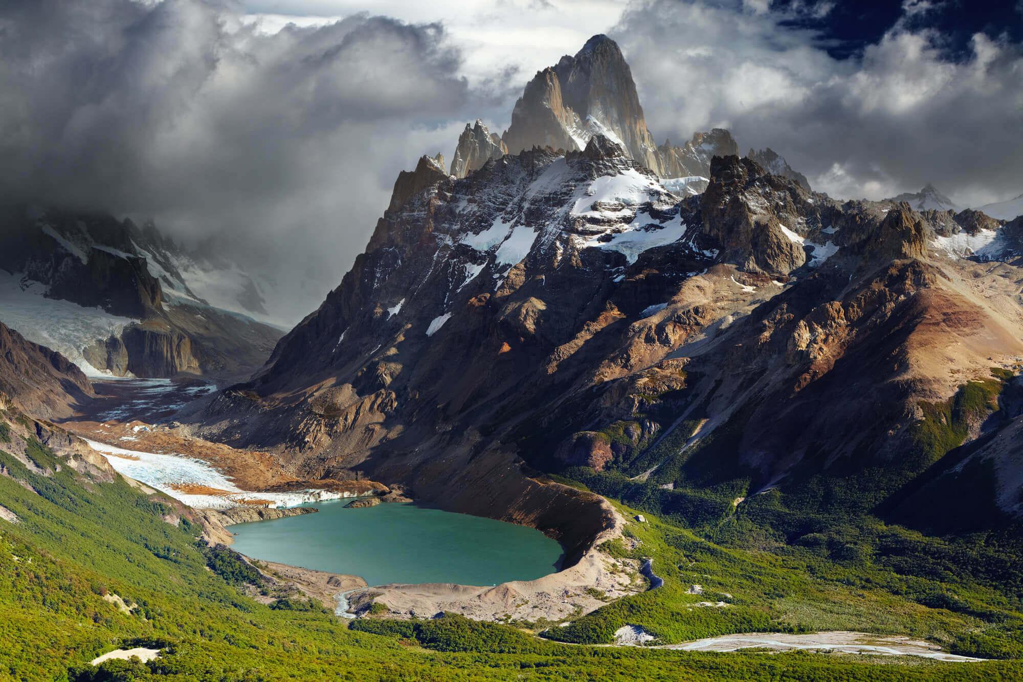 Mount Fitz Roy and Laguna Torre, Patagonia
