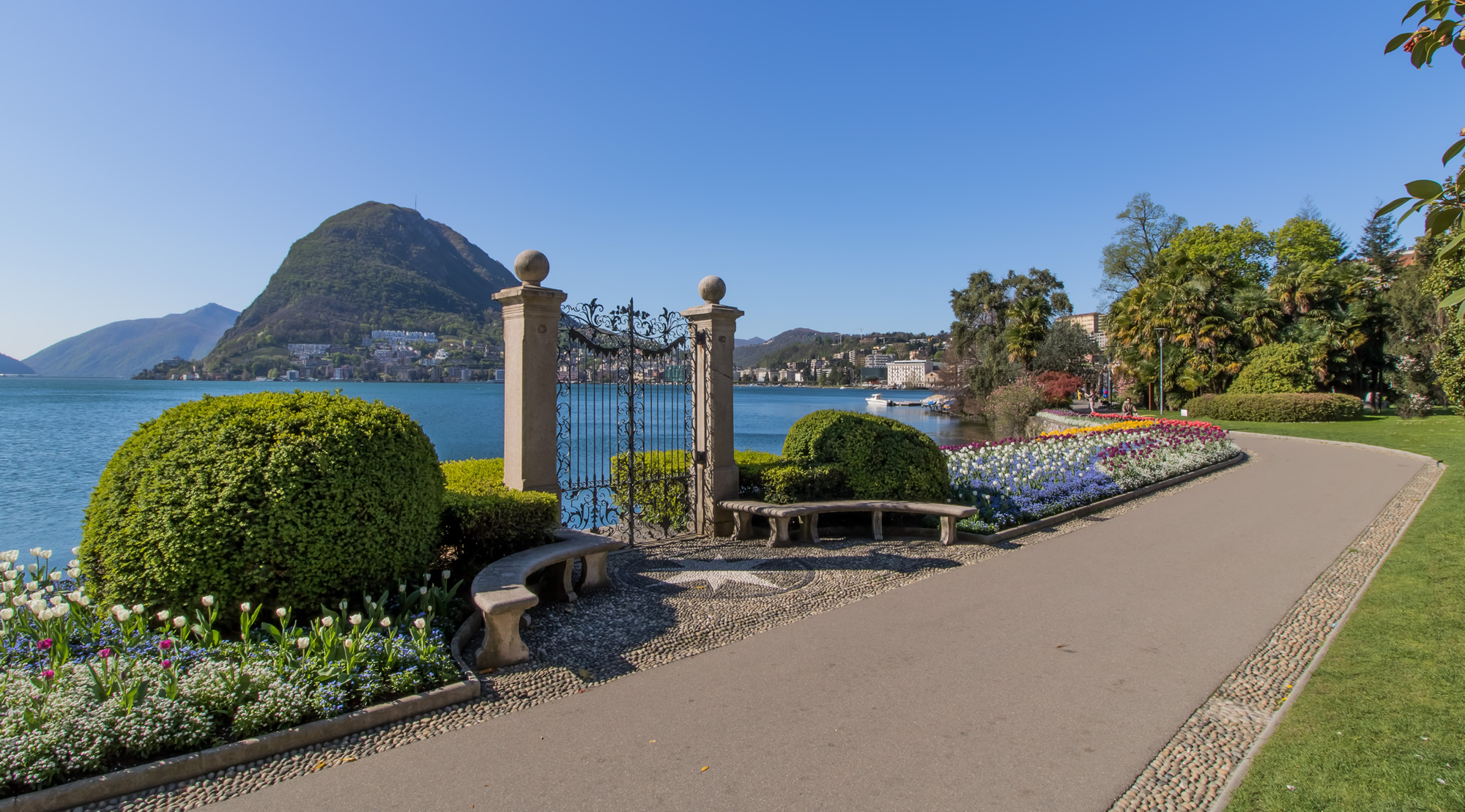 Park Ciani, Lake Lugano Switzerland