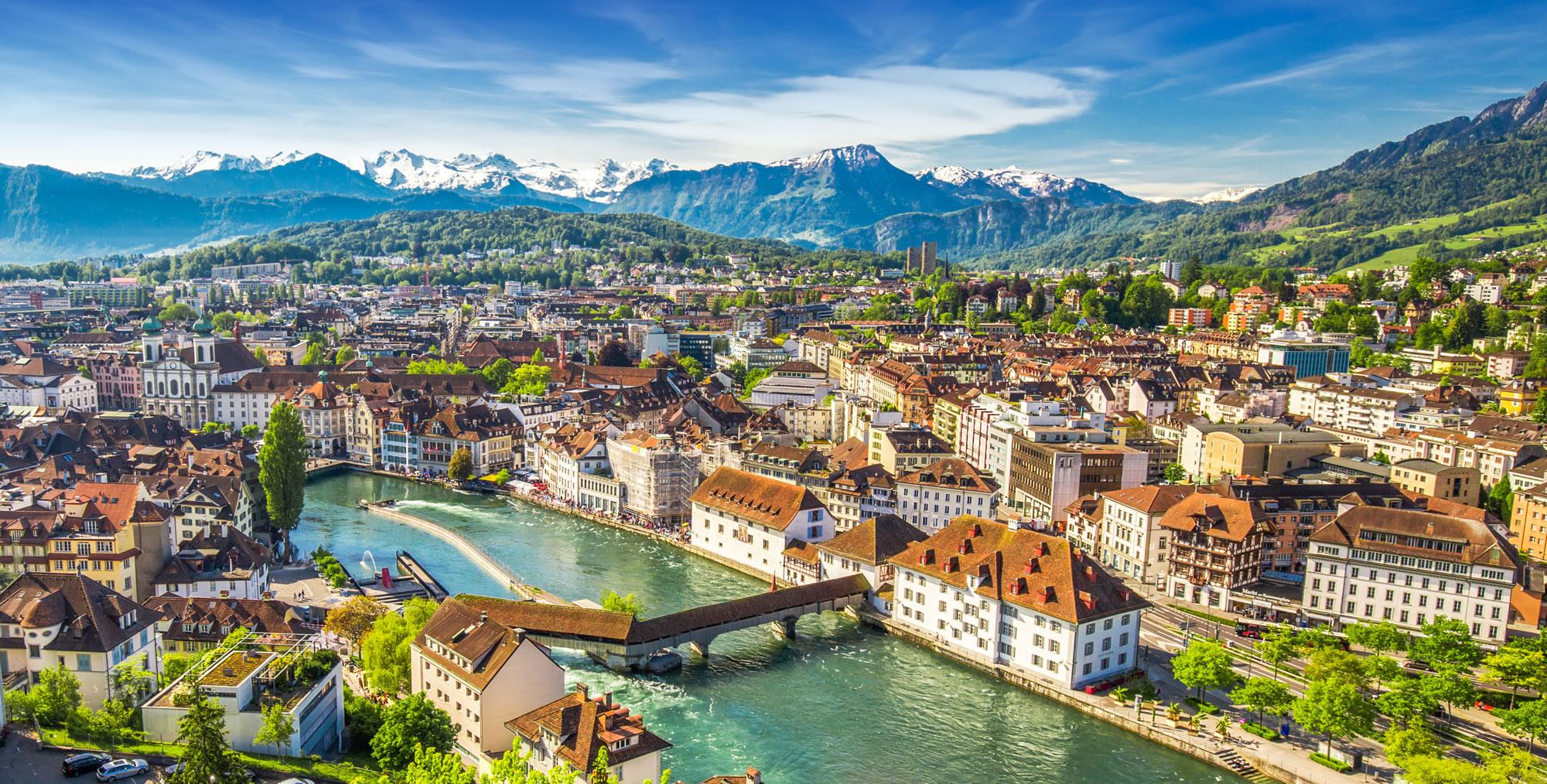 Pilatus Mountain Luzern, Switzerland