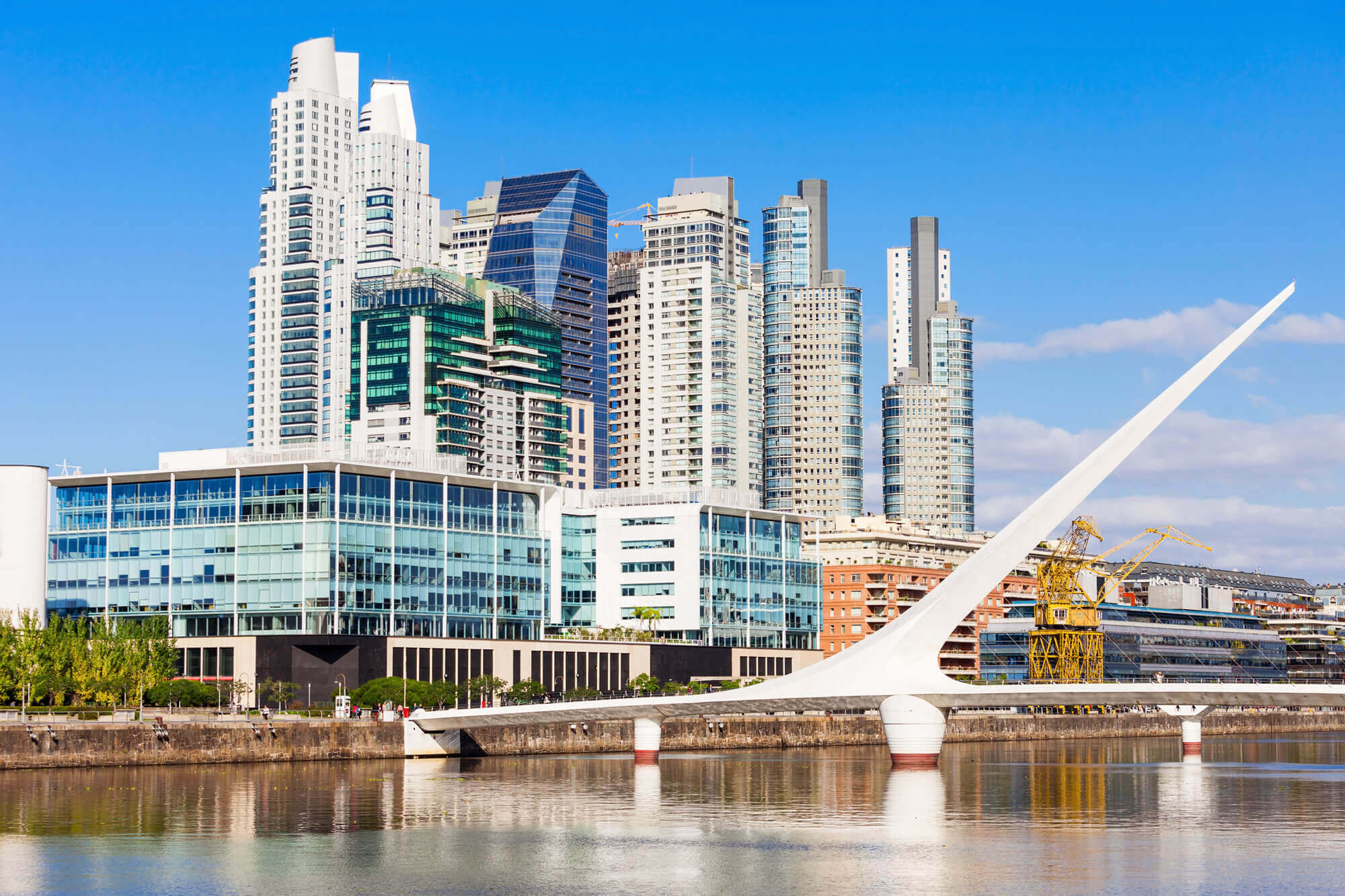Puerto Madero district of Buenos Aires