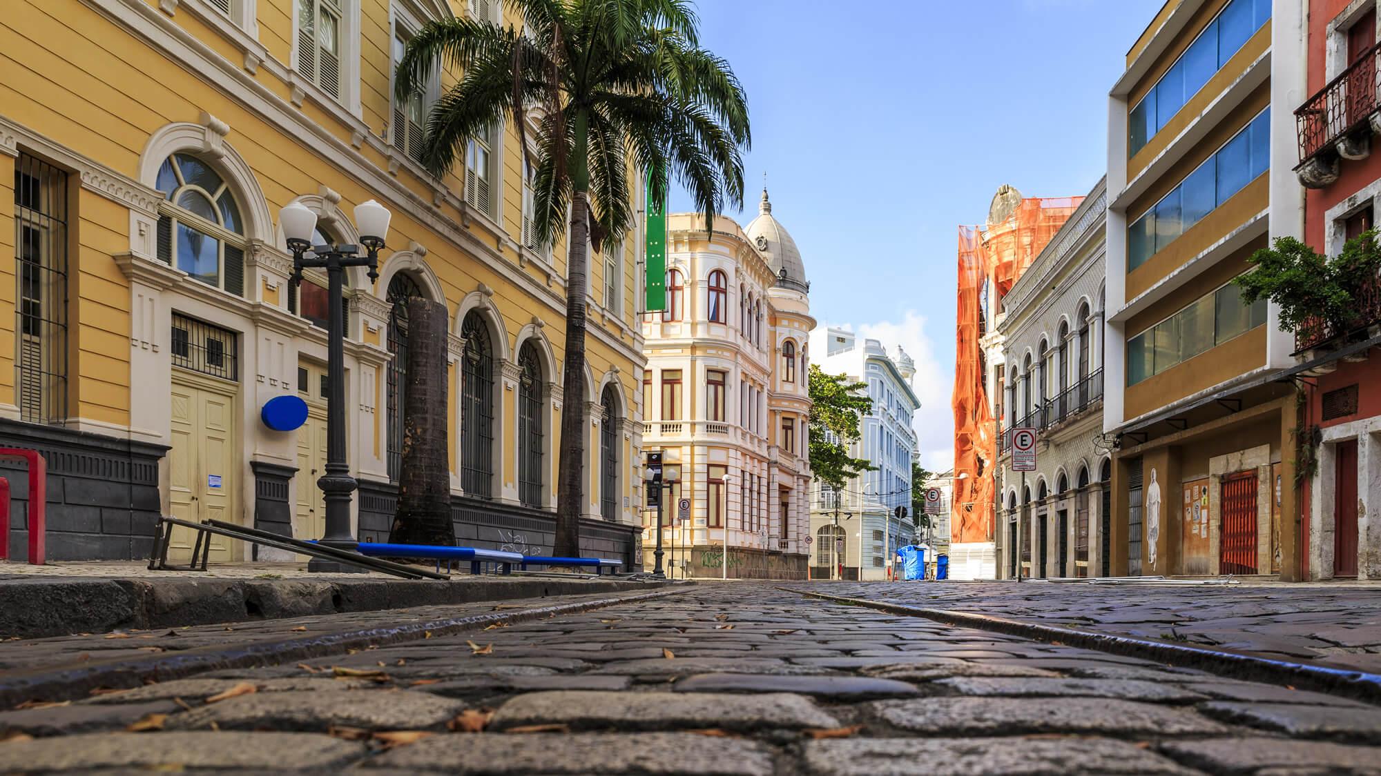 Rua do Bom Jesus Street, Recife
