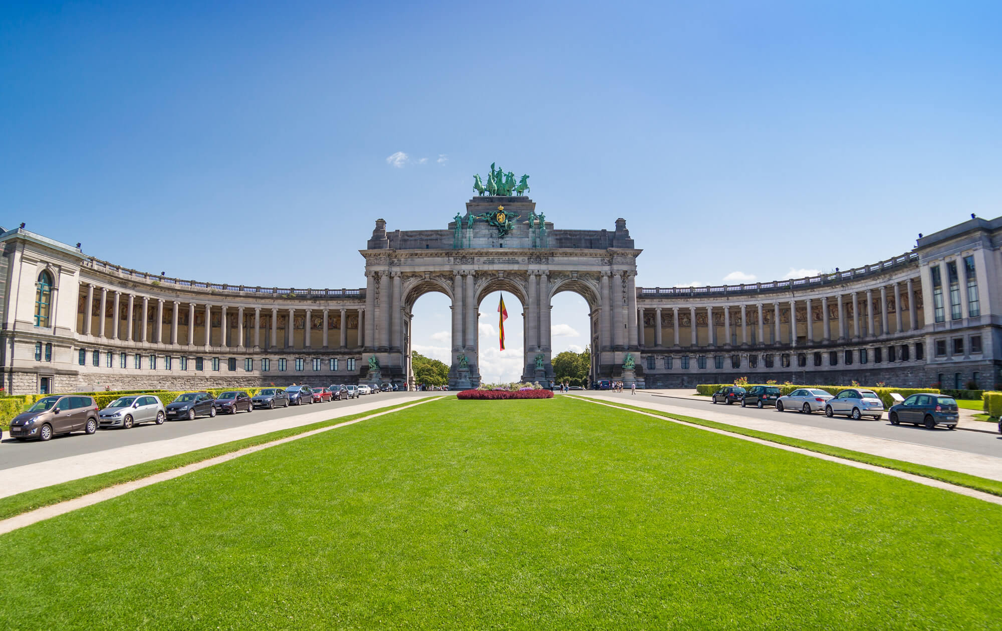 The Triumphal Arc, Brussels