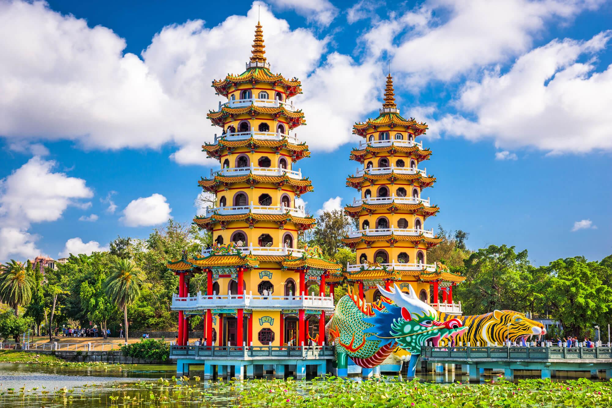 Tiger Pagodas, Taiwan