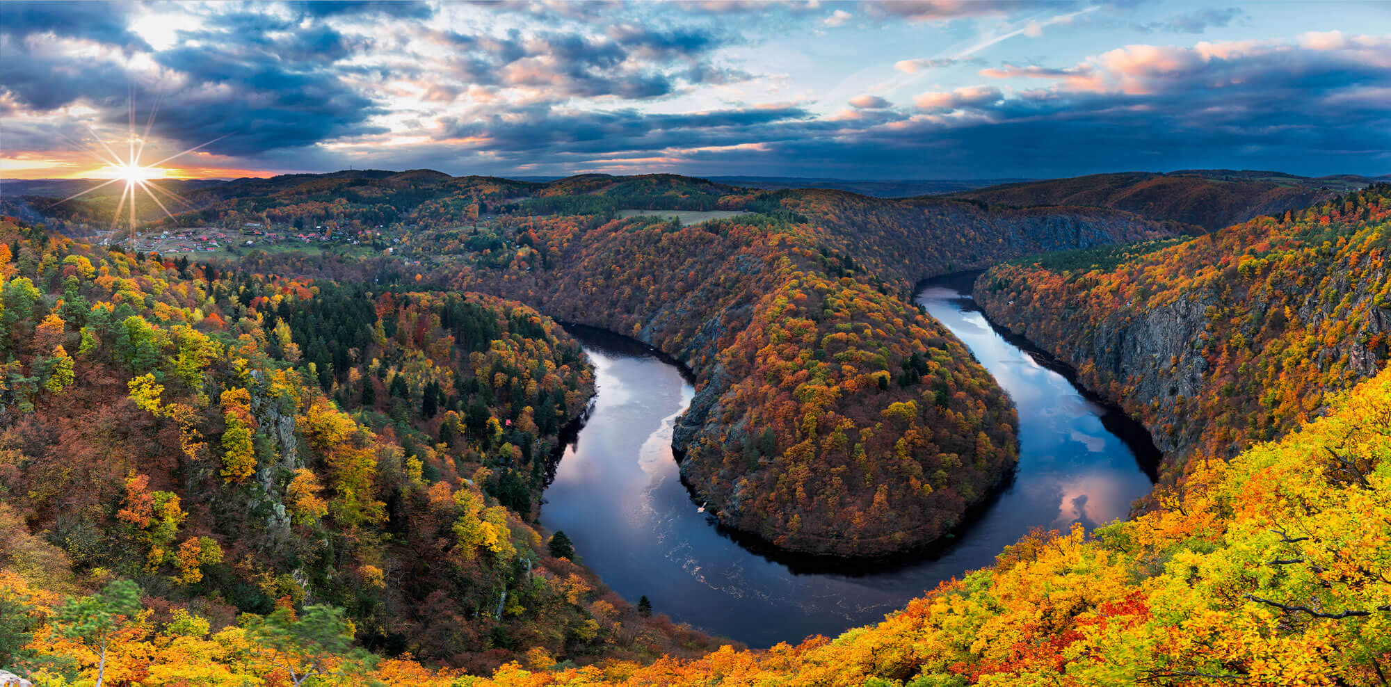 Vltava River, Czech Republic