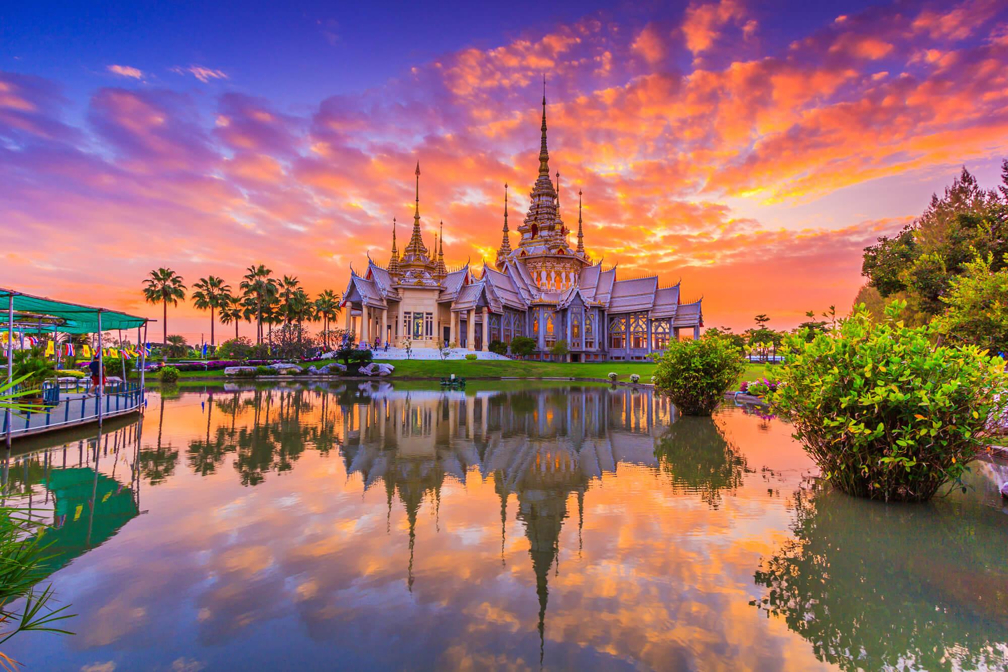 Wat None Kum Temple, Thailand