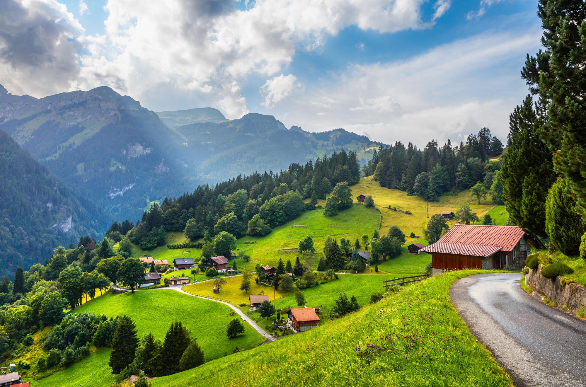 Wengen Bern, Switzerland