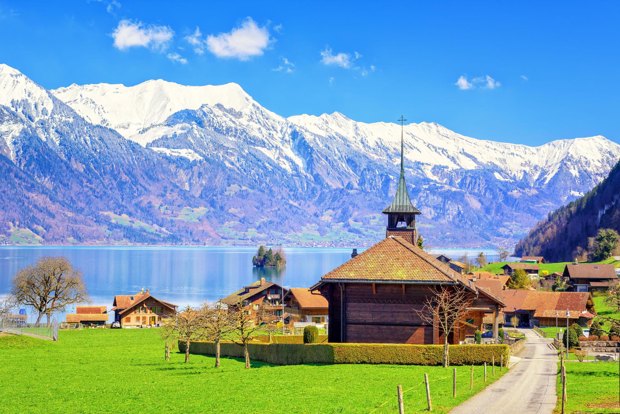 Wooden Church Bern, Switzerland