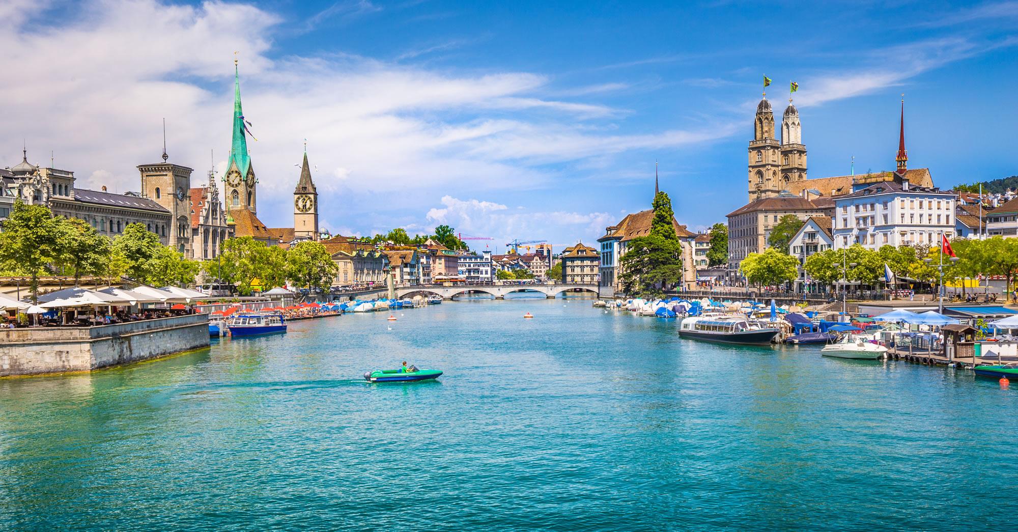 Zurich City Center Switzerland